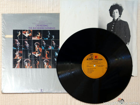 Otis Redding / The Jimi Hendrix Experience ‎– Historic Performances Recorded At The Monterey International Pop Festival vinyl record