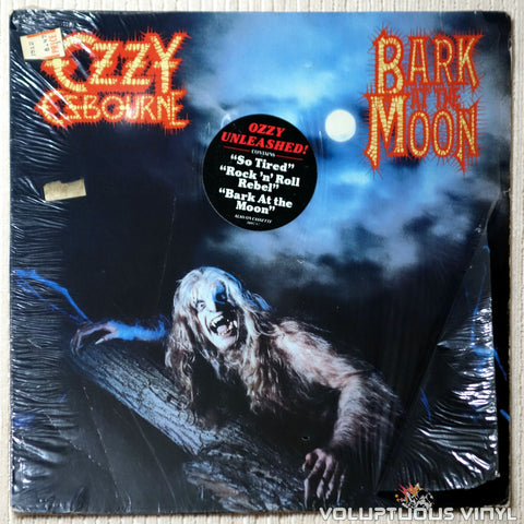 Ozzy Osbourne ‎– Bark At The Moon - Vinyl Record - Front Cover