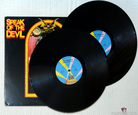 Ozzy Osbourne ‎– Speak Of The Devil vinyl record