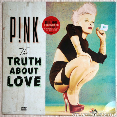 P!nk ‎– The Truth About Love - Vinyl Record - Front Cover