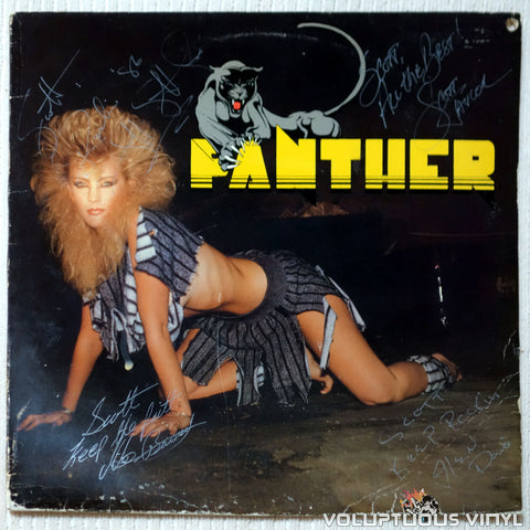 Panther ‎– Panther - Vinyl Record - Front Cover