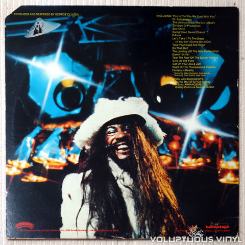 Parliament ‎– Live (P.Funk Earth Tour) - Vinyl Record - Back Cover