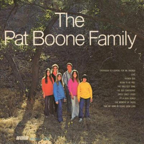 The Pat Boone Family ‎– The Pat Boone Family - Vinyl Record