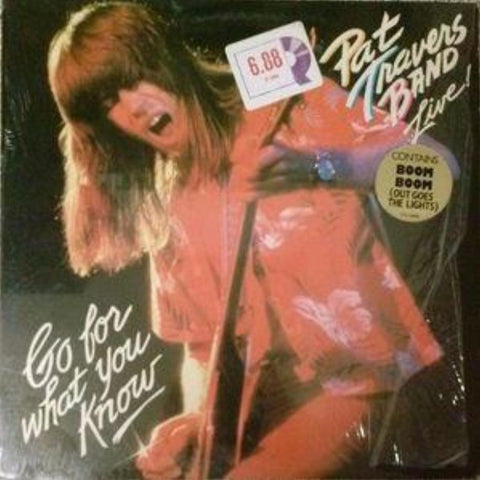 Pat Travers Band ‎– Live! Go For What You Know - Vinyl Record