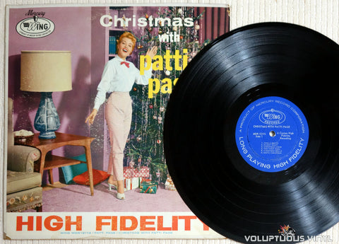 Patti Page ‎– Christmas With Patti Page - Vinyl Record