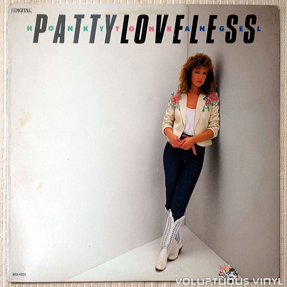 Patty Loveless ‎– Honky Tonk Angel - Vinyl Record - Front Cover