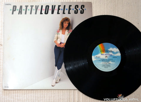 Patty Loveless ‎– Honky Tonk Angel - Vinyl Record