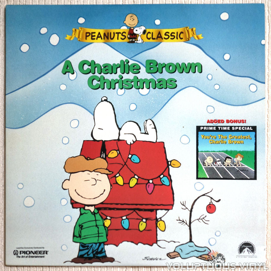 Peanuts: Charlie Brown Christmas / You're the Greatest - LaserDisc - Front Cover