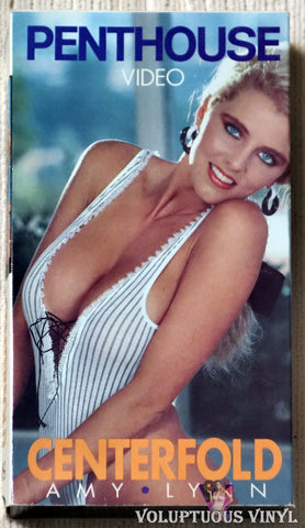 Penthouse Centerfold Amy Lynn VHS tape front cover