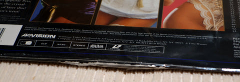 Penthouse Pet of the Year Spectacular Laser Disc Seam Split