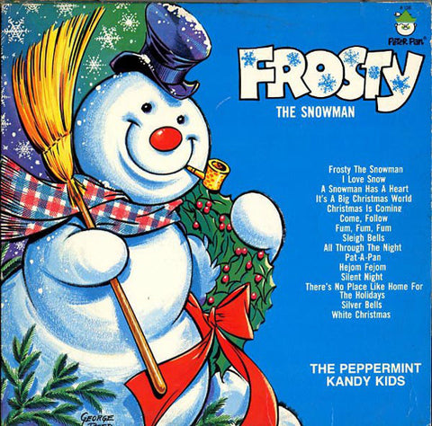 The Peppermint Kandy Kids ‎– Frosty The Snowman (?) Vinyl Record