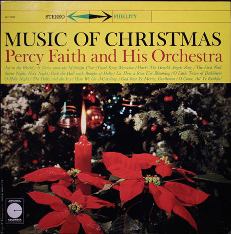 Percy Faith And His Orchestra ‎– Music Of Christmas (?) Vinyl Record
