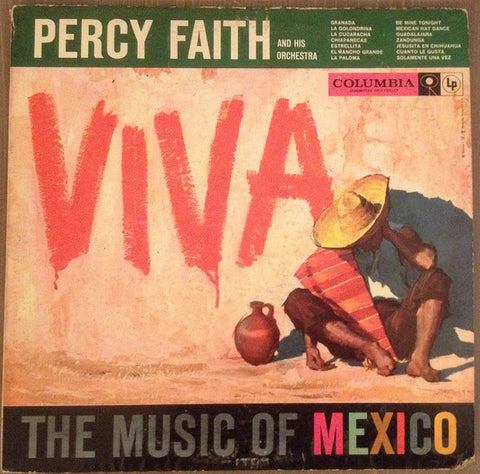 Percy Faith And His Orchestra ‎– Viva! The Music Of Mexico (1957) Cheap Vinyl Record