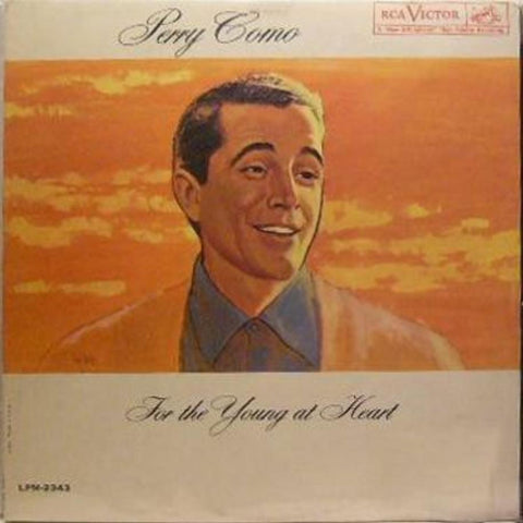 Perry Como ‎– For The Young At Heart vinyl record front cover