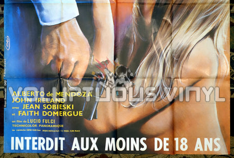 Perversion Story - French Grande Poster - Marisa Mell Nude - Bottom Half