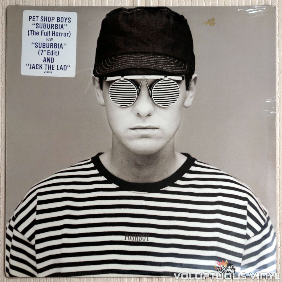 Pet Shop Boys ‎– Suburbia - Vinyl Record - Front Cover