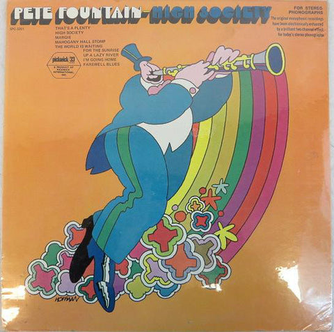 Pete Fountain ‎– High Society - Vinyl Record - Front Cover