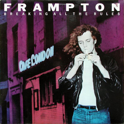 Peter Frampton ‎– Breaking All The Rules (1981) Vinyl Record