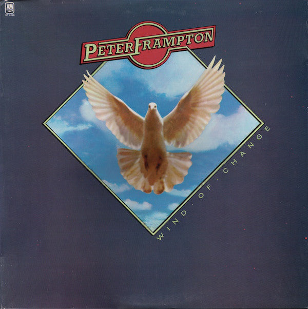 Peter Frampton ‎– Wind Of Change - Vinyl Record - Front Cover