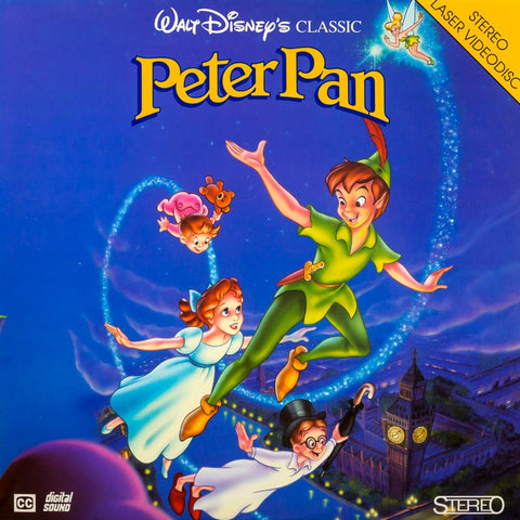 Peter Pan (1953) LaserDisc