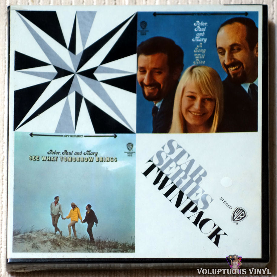 Peter, Paul & Mary‎– A Song Will Rise / See What Tomorrow Brings reel to reel front cover