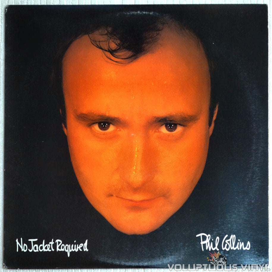 Phil Collins ‎– No Jacket Required - Vinyl Record - Front Cover