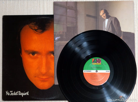 Phil Collins ‎– No Jacket Required - Vinyl Record & Inner Sleeve