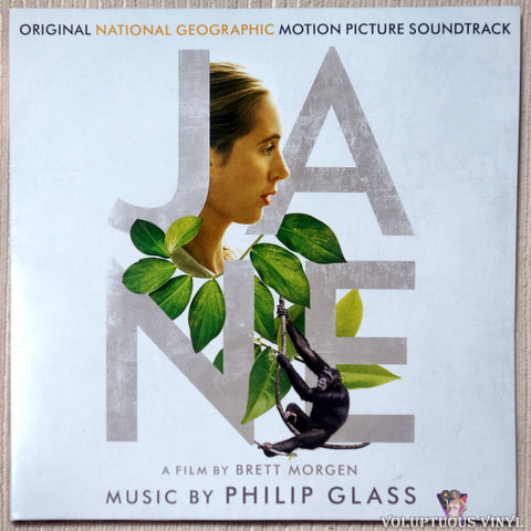 Philip Glass ‎– Jane (Original Motion Picture Soundtrack) vinyl record front cover