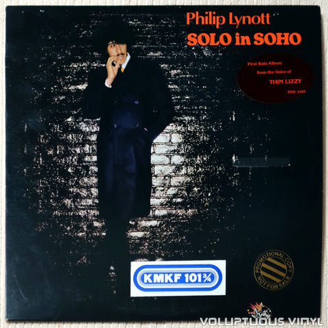 Philip Lynott ‎– Solo In Soho - Vinyl Record - Front Cover