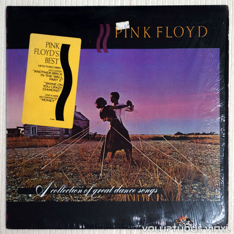 Pink Floyd ‎– A Collection Of Great Dance Songs - Vinyl Record - Front Cover