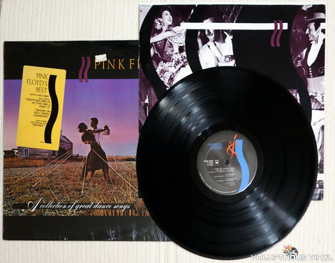 Pink Floyd ‎– A Collection Of Great Dance Songs - Vinyl Record