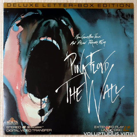 Pink Floyd: The Wall - LaserDisc - Front Cover