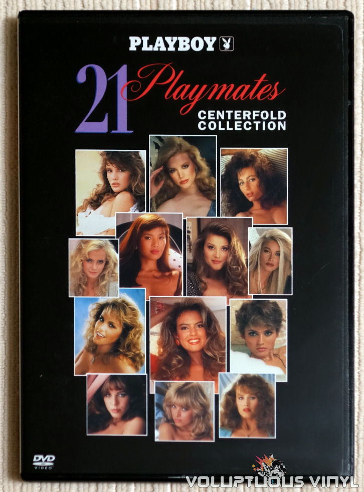 Playboy: 21 Playmates Centerfold Collection - DVD - Front Cover