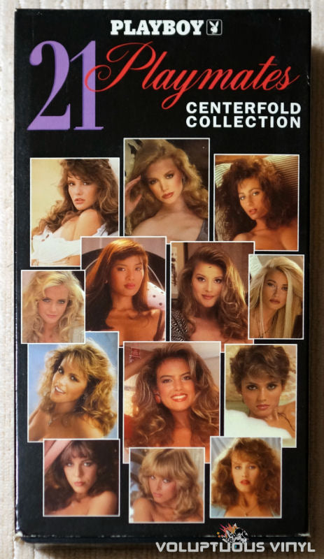 Playboy: 21 Playmates Centerfold Collection - VHS - Front Cover