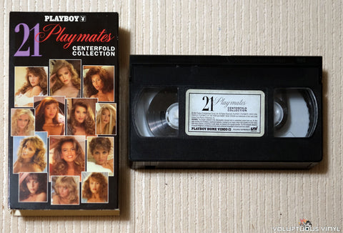 Playboy: 21 Playmates Centerfold Collection - VHS Tape