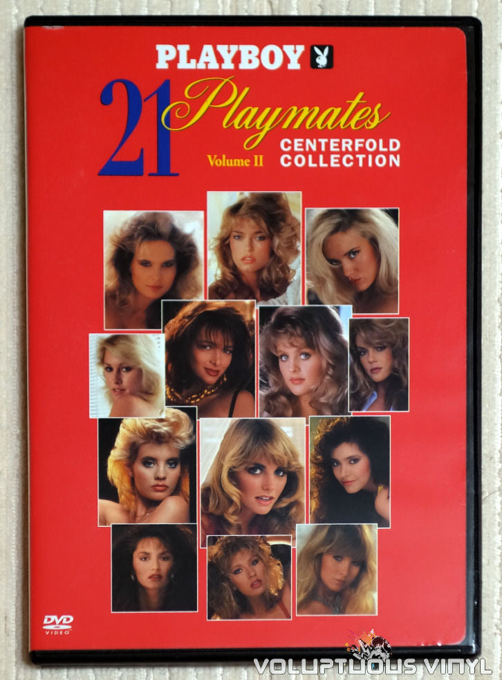 Playboy: 21 Playmates Centerfold Collection Volume II - DVD - Front Cover
