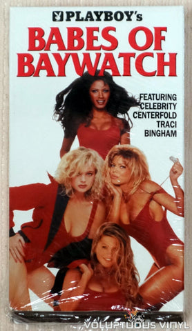 Playboy's Babes of Baywatch - VHS Tape - Front Cover