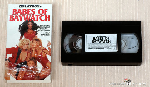 Playboy's Babes of Baywatch - VHS Tape