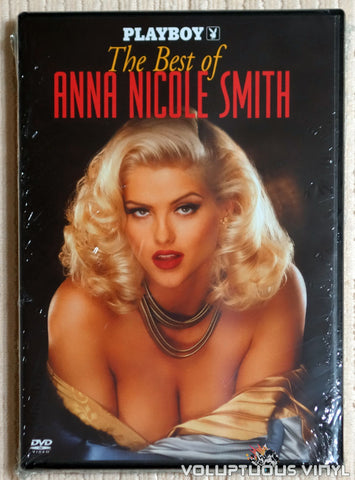 Playboy Best of Anna Nicole Smith - DVD - Front Cover