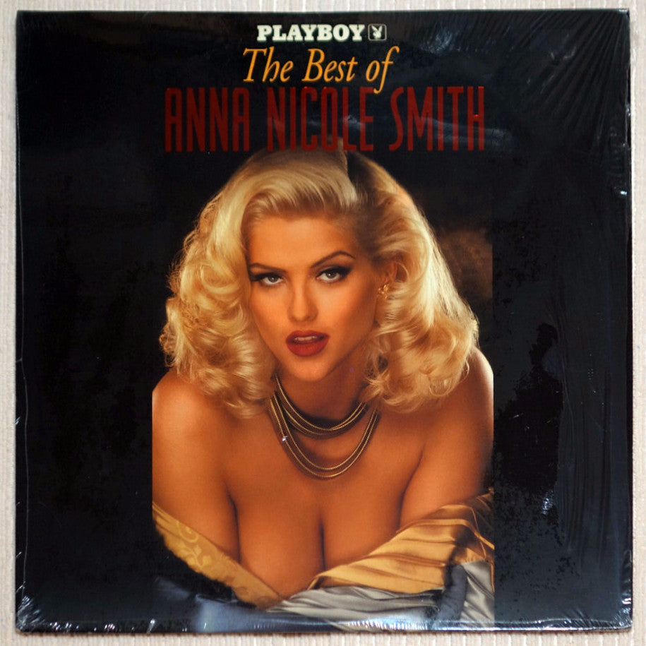 Playboy Best of Anna Nicole Smith Laser Disc Front Cover