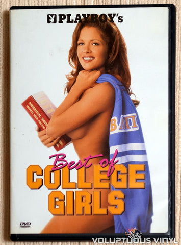 Playboy: Best Of College Girls - DVD - Front Cover