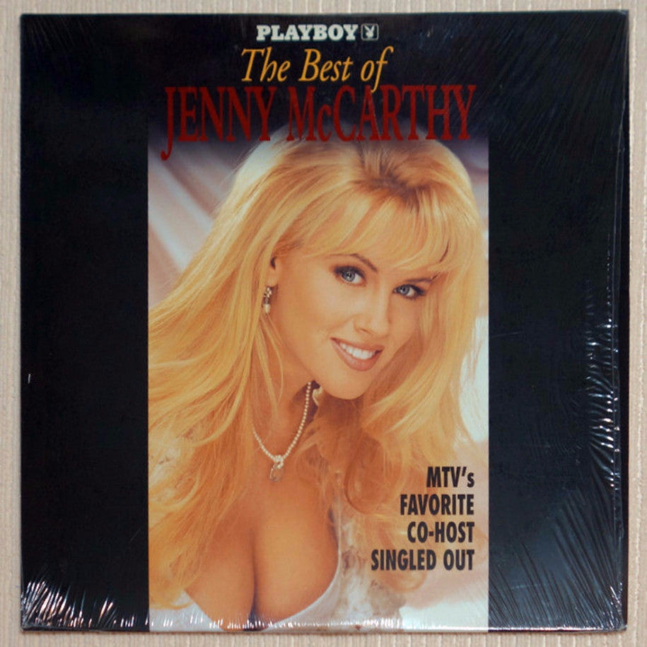 Playboy Best of Jenny McCarthy Laser Disc Front Cover