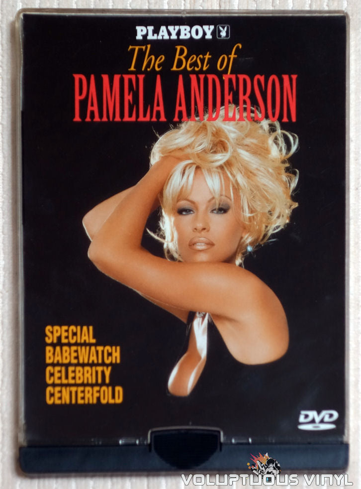 Playboy The Best of Pamela Anderson - DVD - Front Cover
