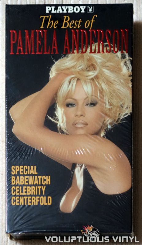 Playboy The Best of Pamela Anderson - VHS - Front Cover