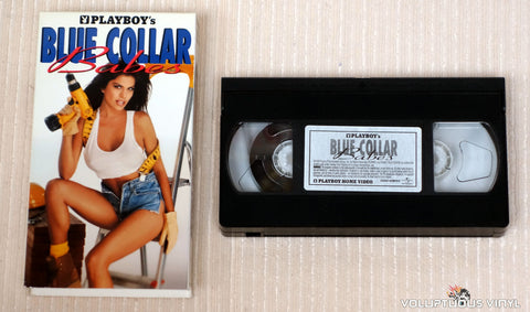 Playboy's Blue Collar Babes - VHS Tape