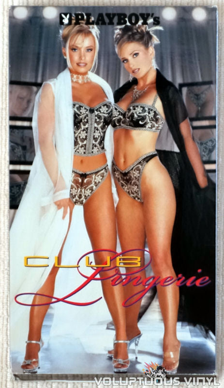 Playboy: Club Lingerie - VHS Tape - Front Cover