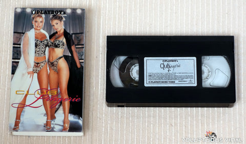 Playboy: Club Lingerie - VHS Tape