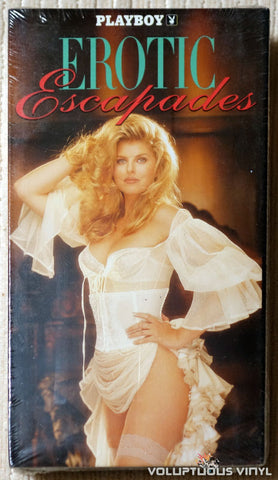 VHS: SEALED - Playboy: Erotic Escapades