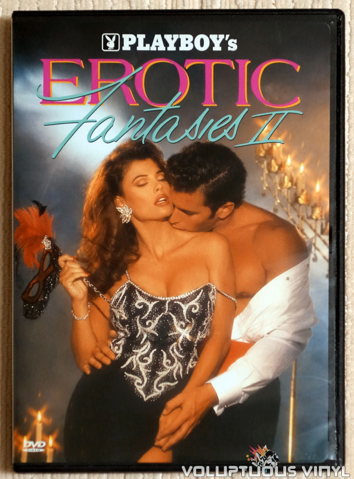Playboy: Erotic Fantasies II - DVD - Front Cover