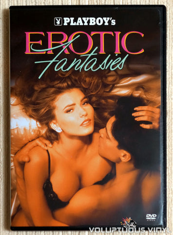 Playboy: Erotic Fantasies - DVD - Front Cover